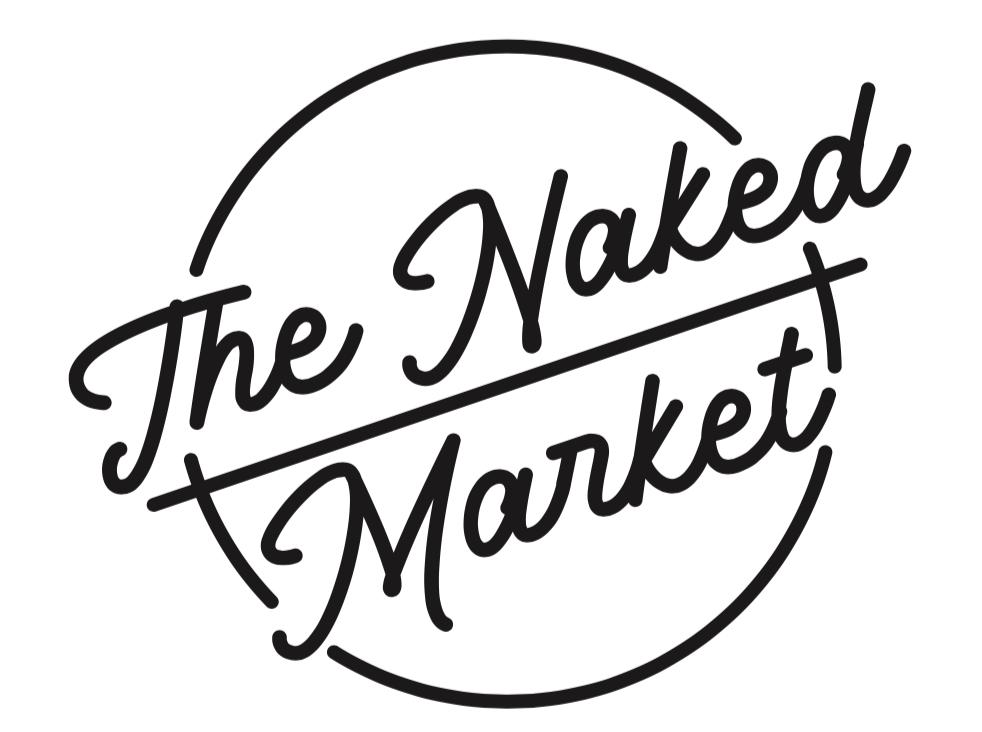 The Naked Market logo